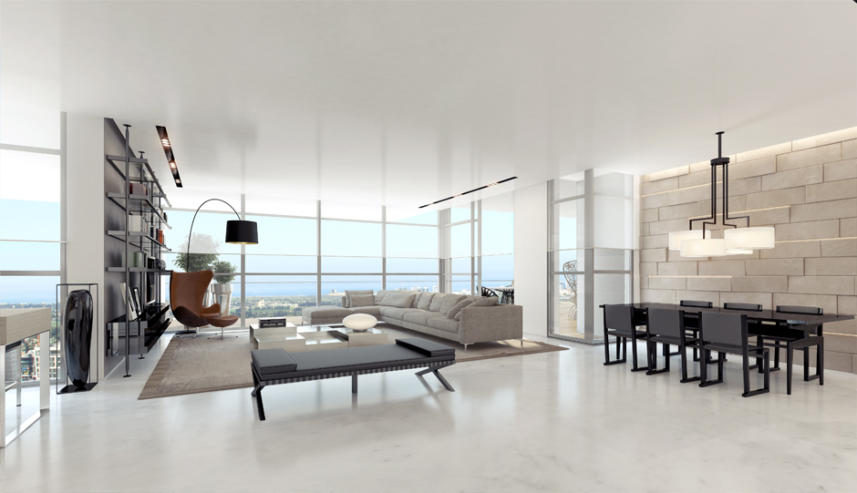 Apartment interior design inspiration for Modern interior design living room white