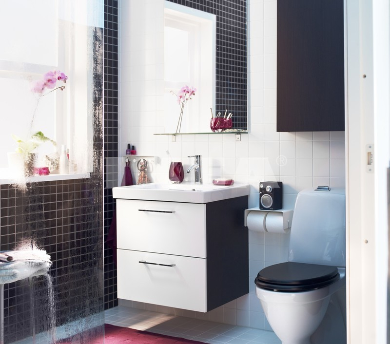 Ikea bathrooms for Bathroom decor 2012