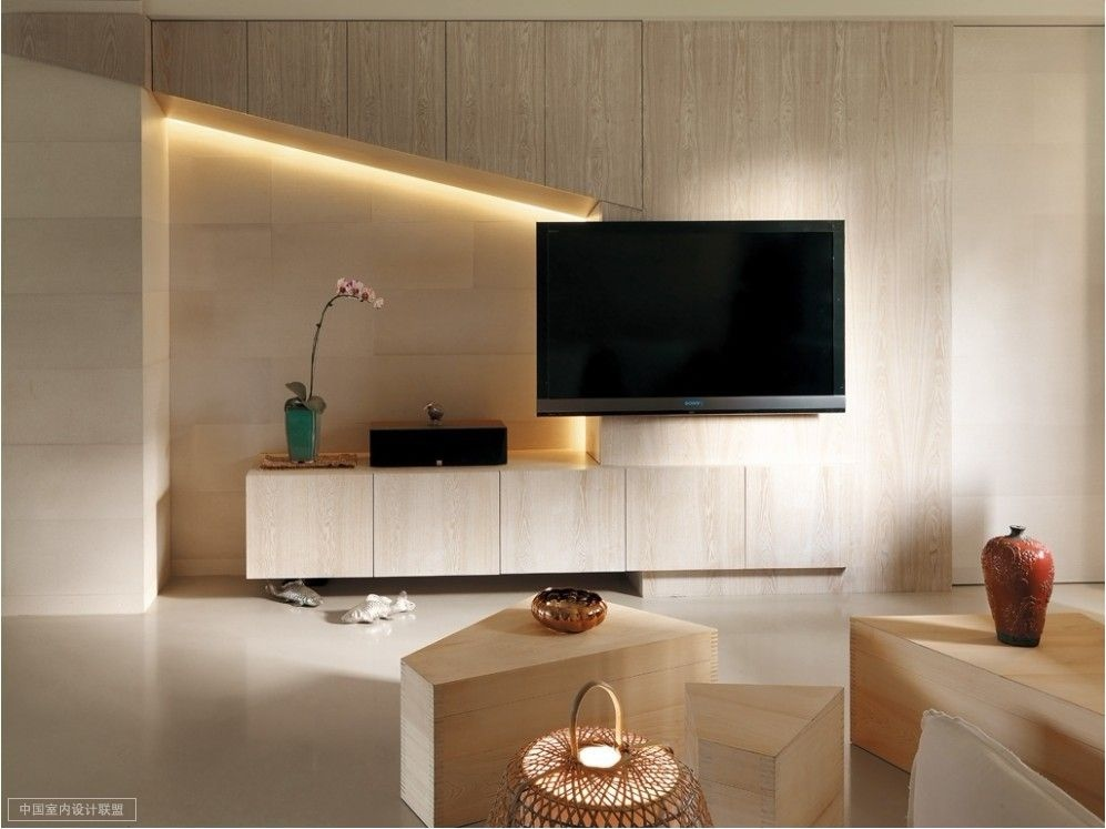 A modern asian minimalistic apartment for Oriental furniture living room
