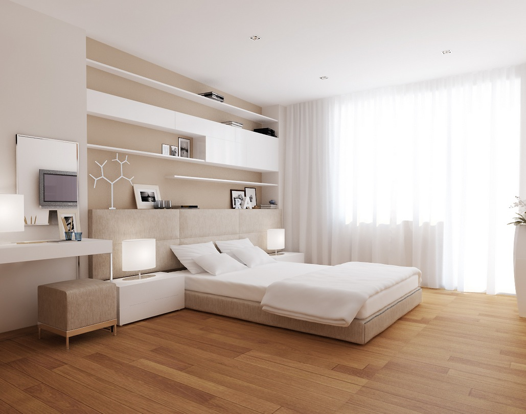 Contemporary modern bedroom interior design ideas for Modern interior design