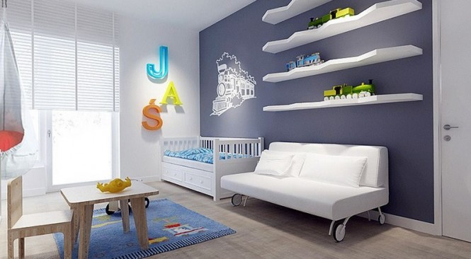 Contemporary nursery design
