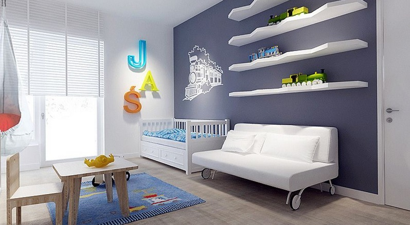 Contemporary nursery design | Interior Design Ideas.
