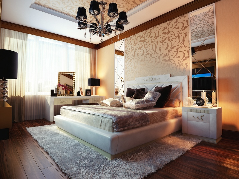 Bedrooms with traditional elegance for Elegant bedroom designs