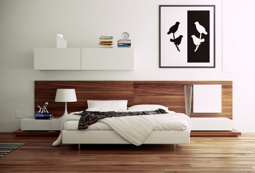modern bedroom ideas - Modern Bad Room