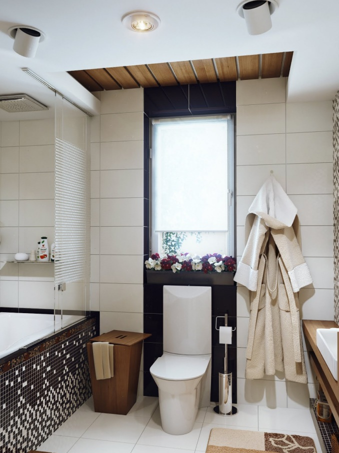 Small bathroom design for Monochrome bathroom designs