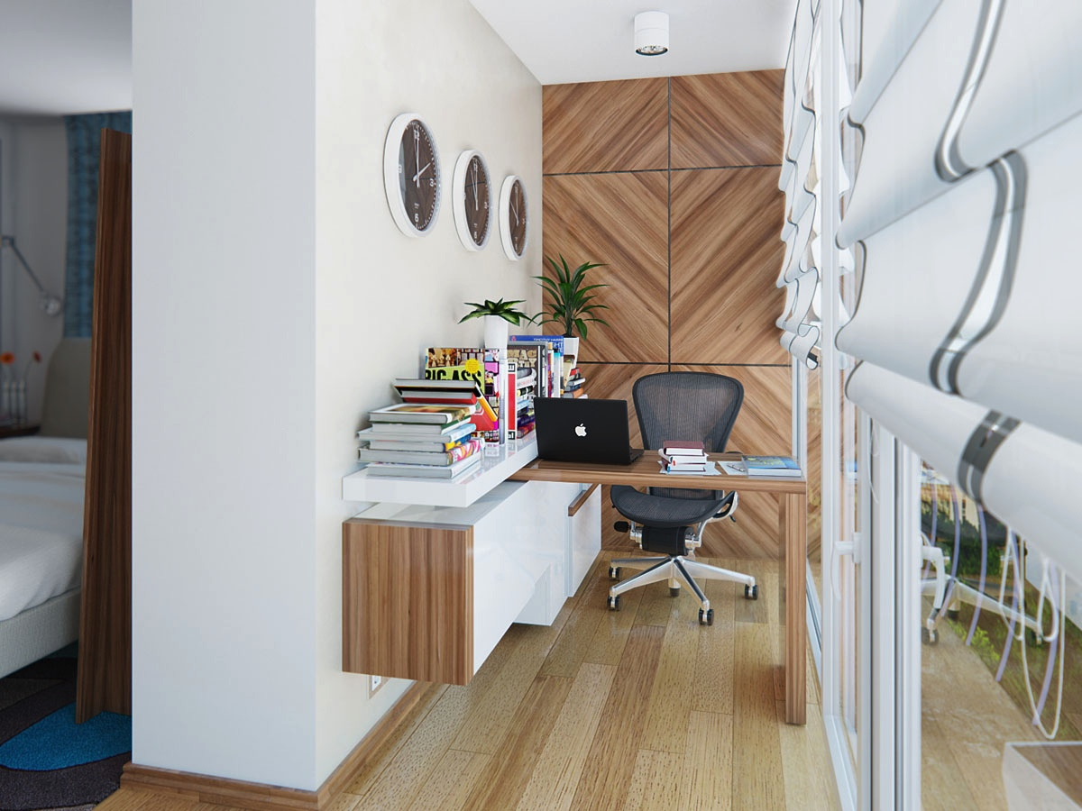 Wonderful home workspaces - Small home office space gallery ...