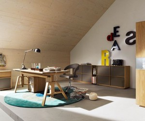 Teen Room Designs  Grown-up, trendy study spaces to keep your teenager  concentrating in their homework!
