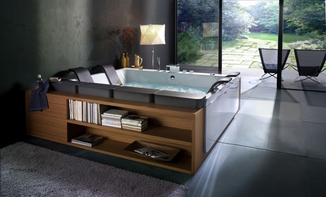 Via  BluBleu  Bathtubs with a View of Nature  Bathtubs with a View of Nature Spa whirlpool bath 665x402