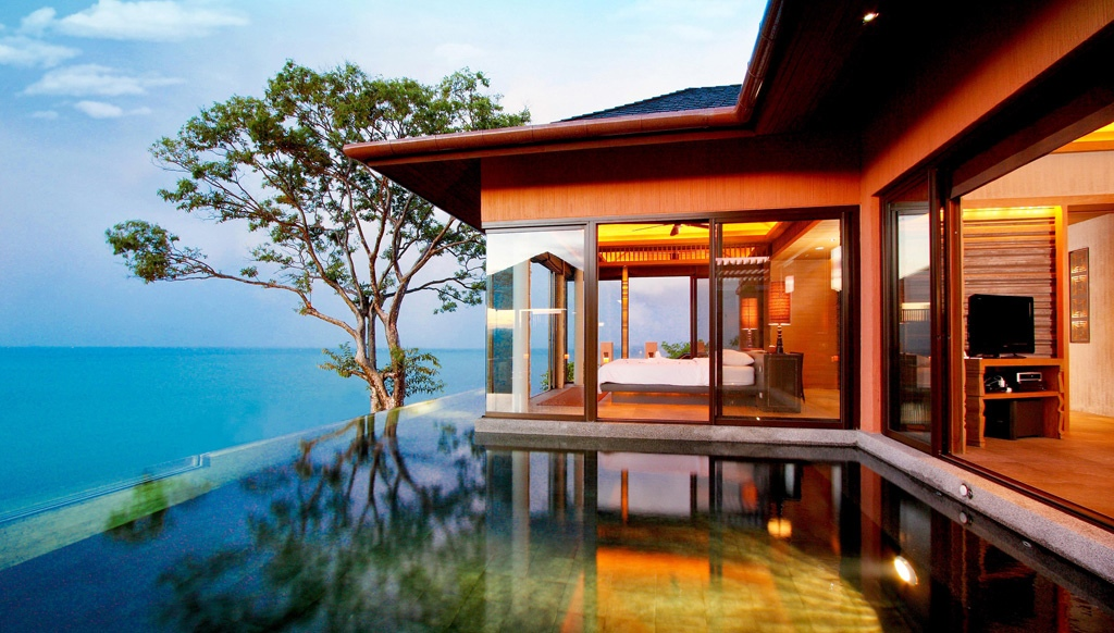 Luxury villas in phuket thailand for Villas with infinity pools