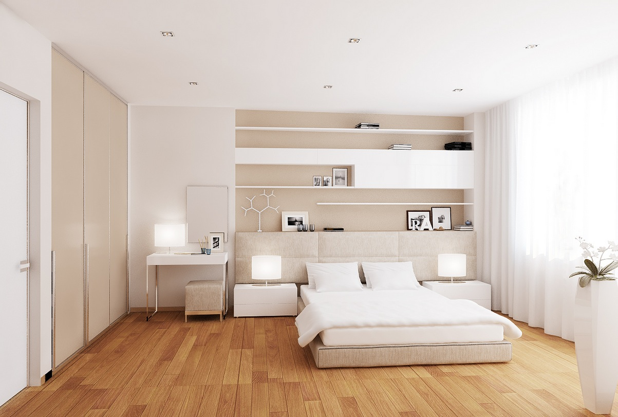 White Cream Bedroom