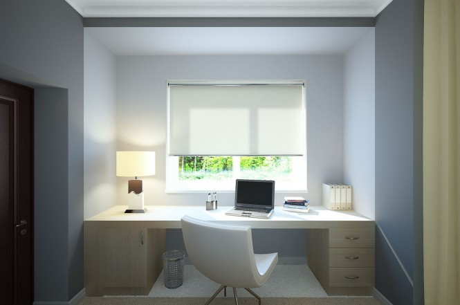White gray home study