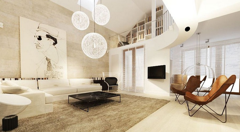 White Living Room Design Interior Design Ideas