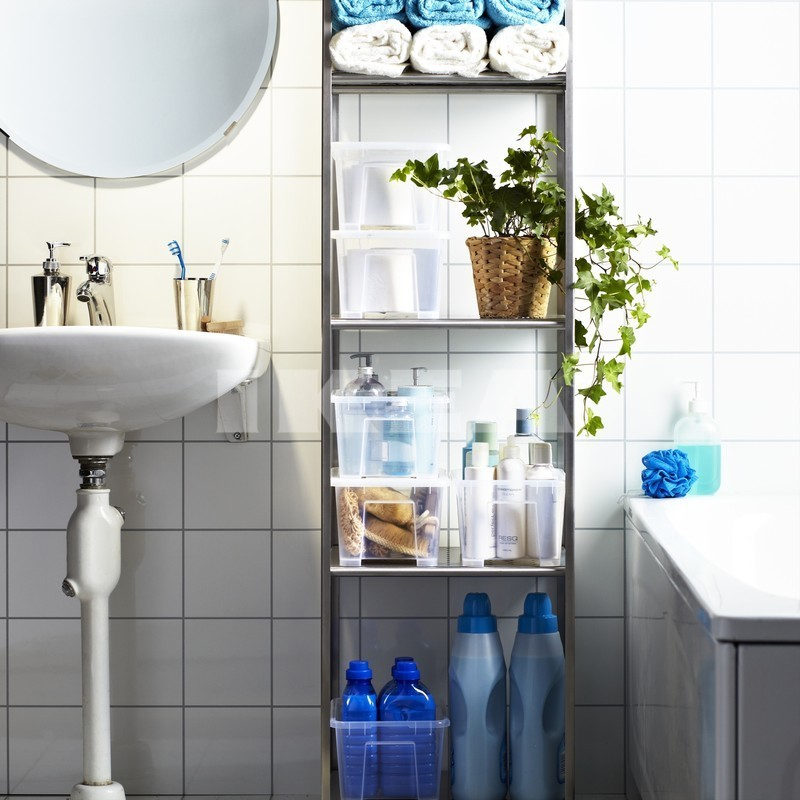 Ikea bathrooms for Small bathroom designs no toilet