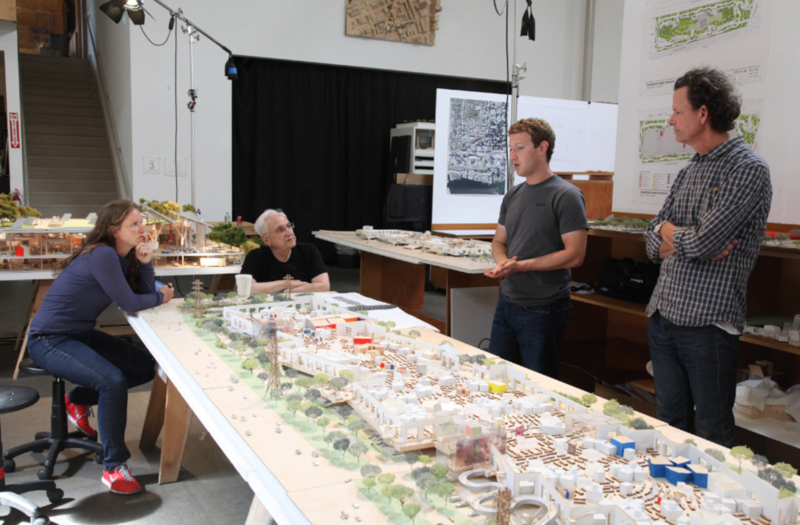 Facebook 39 S New Menlo Park Campus To Be Designed By Frank Gehry