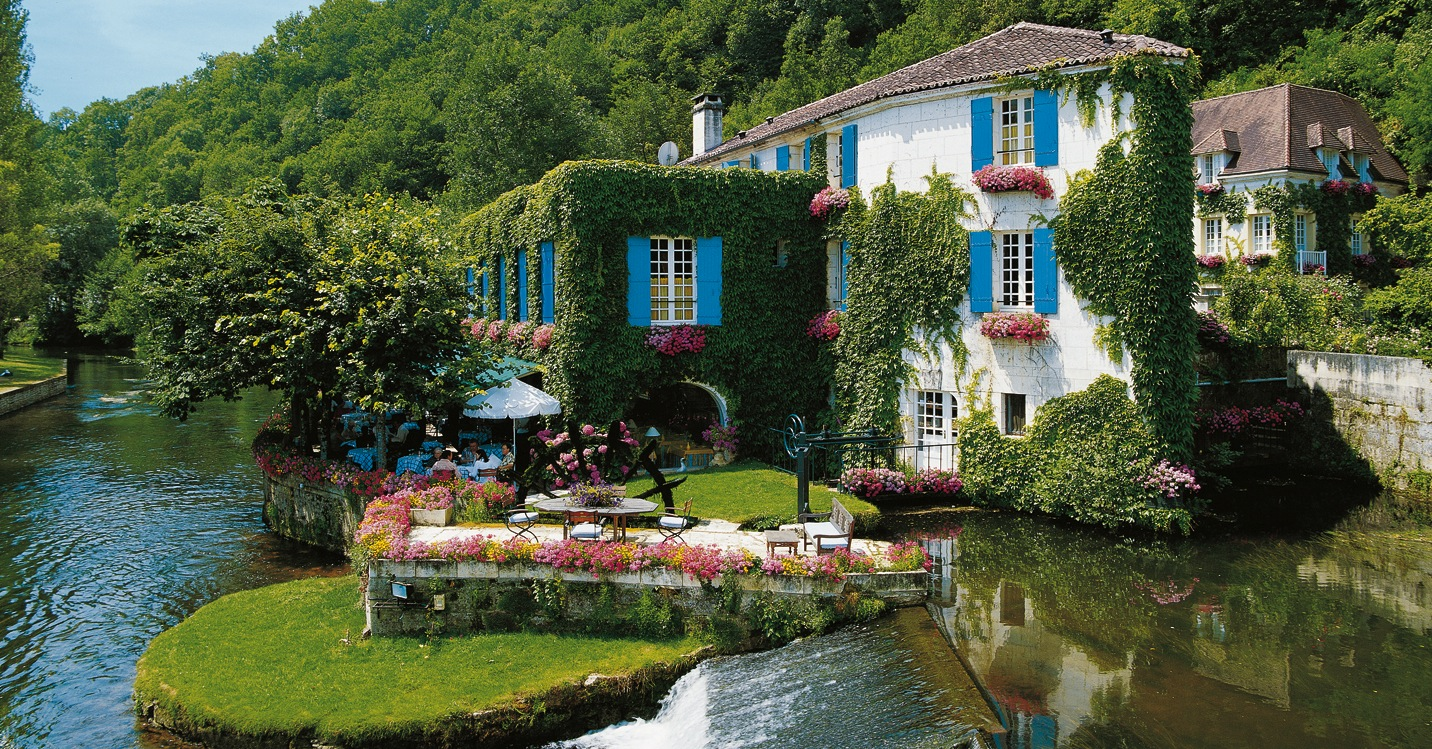 a beautifully charming country hotel in france