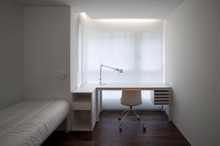 Peachy Bedroom With Office Small Home With Smart Use Of Space Taiwan Largest Home Design Picture Inspirations Pitcheantrous