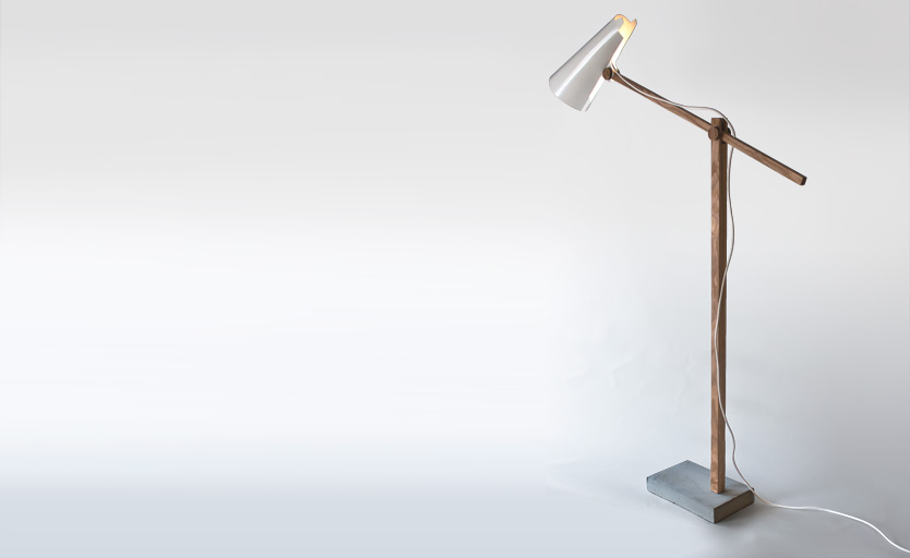 Wooden Desk Lamp Interior Design Ideas