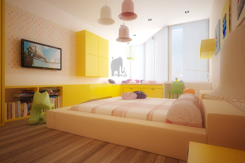 Colorful kids rooms Best color for kids room