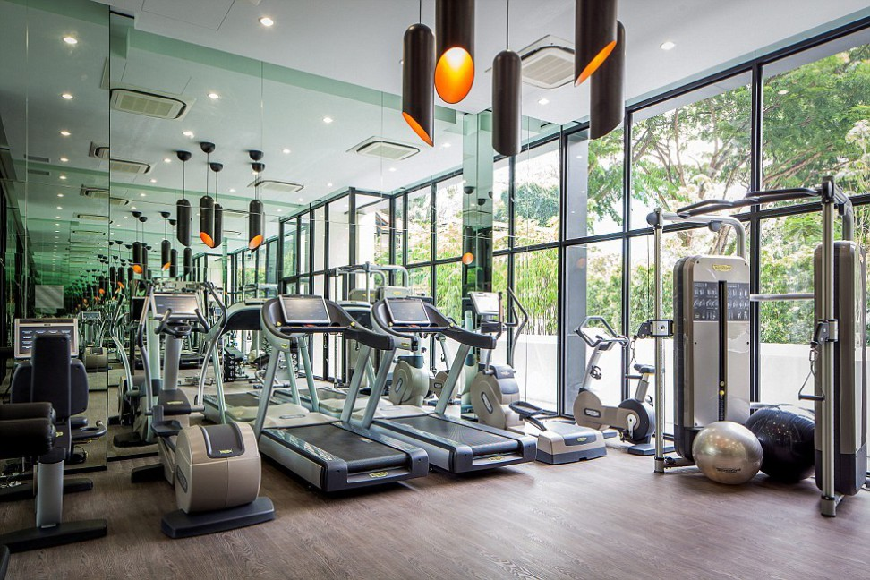 Communal gym | Interior Design Ideas.
