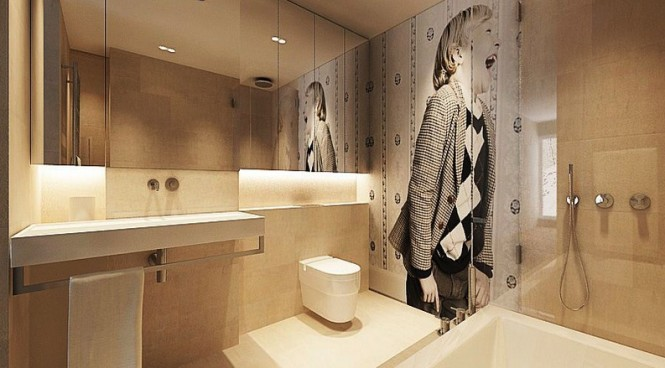 Crisp and contemporary home designs for New bathroom ideas for 2012