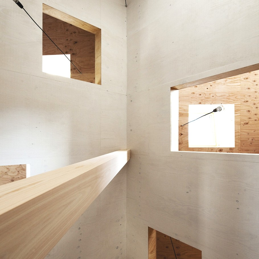 Japanese minimalism the ant house for Modern minimalist architecture