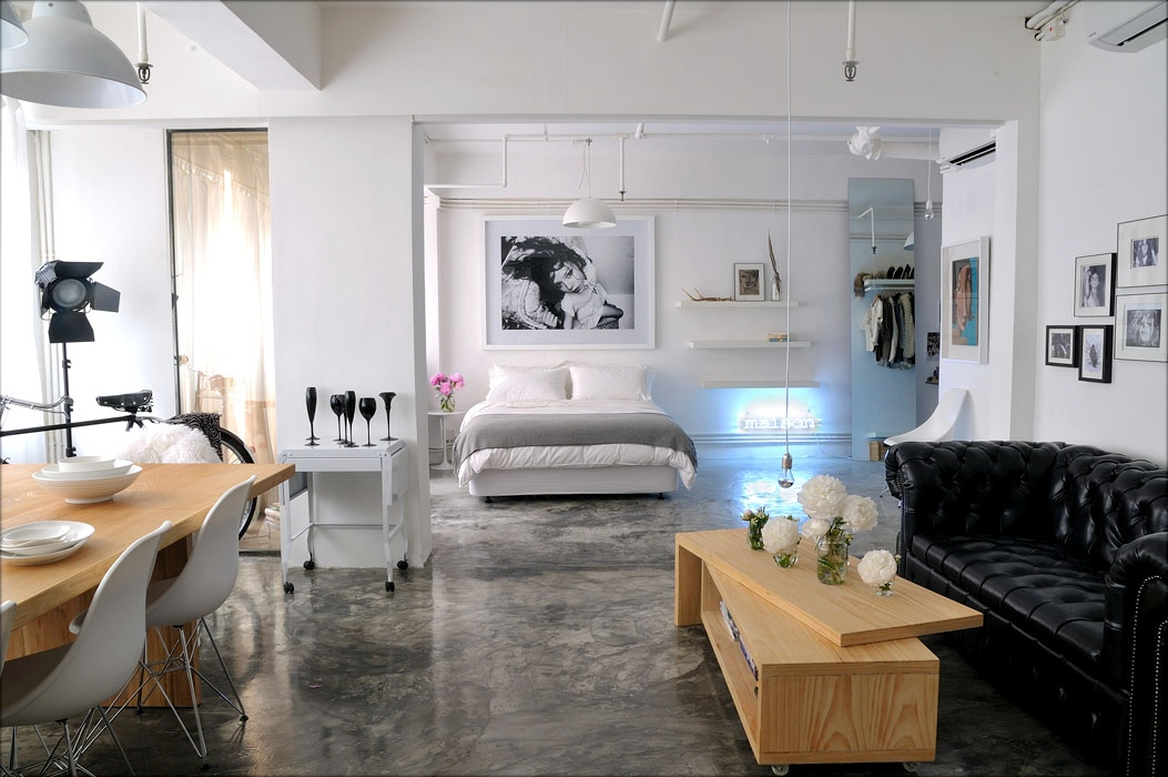 Studio lofts for Modern loft bedroom