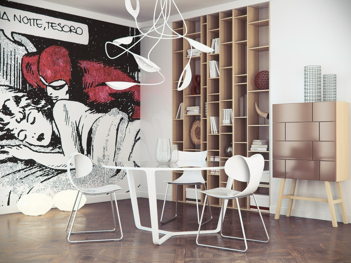 10 unusual wall art ideas 10 living room designs with unexpected wall murals decoholic