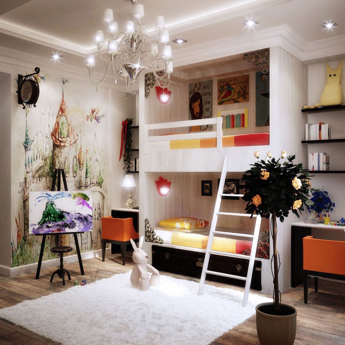 Colorful kids rooms - Room decoration ideas for teenagers ...