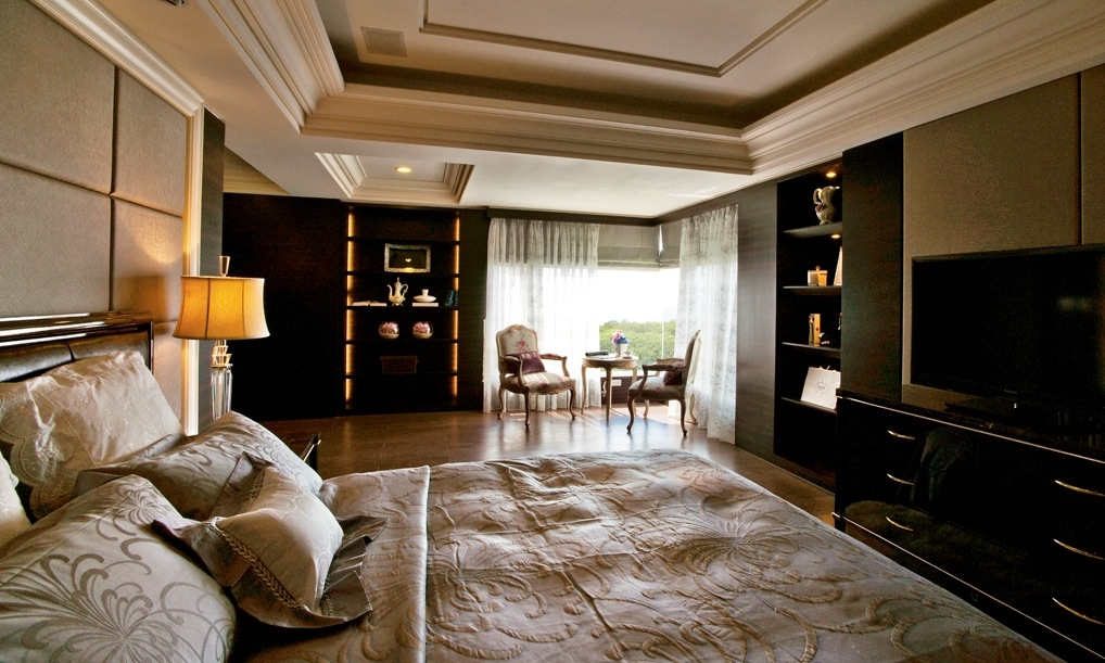 Contemporary classic home - House decoration bedroom ...