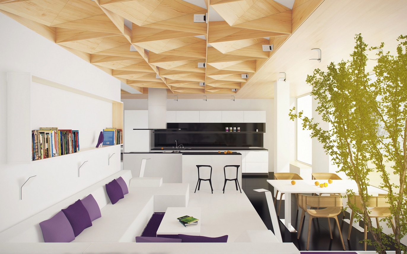Blur the Boundaries with Inside-Outside Living Style