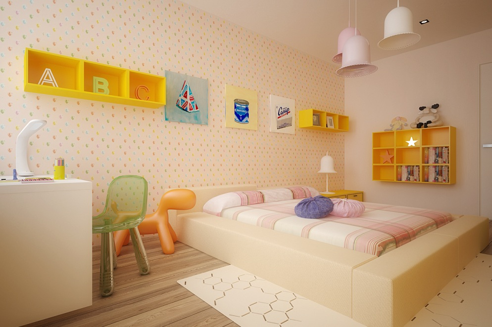 Colorful Kids Rooms - Room colors for kids