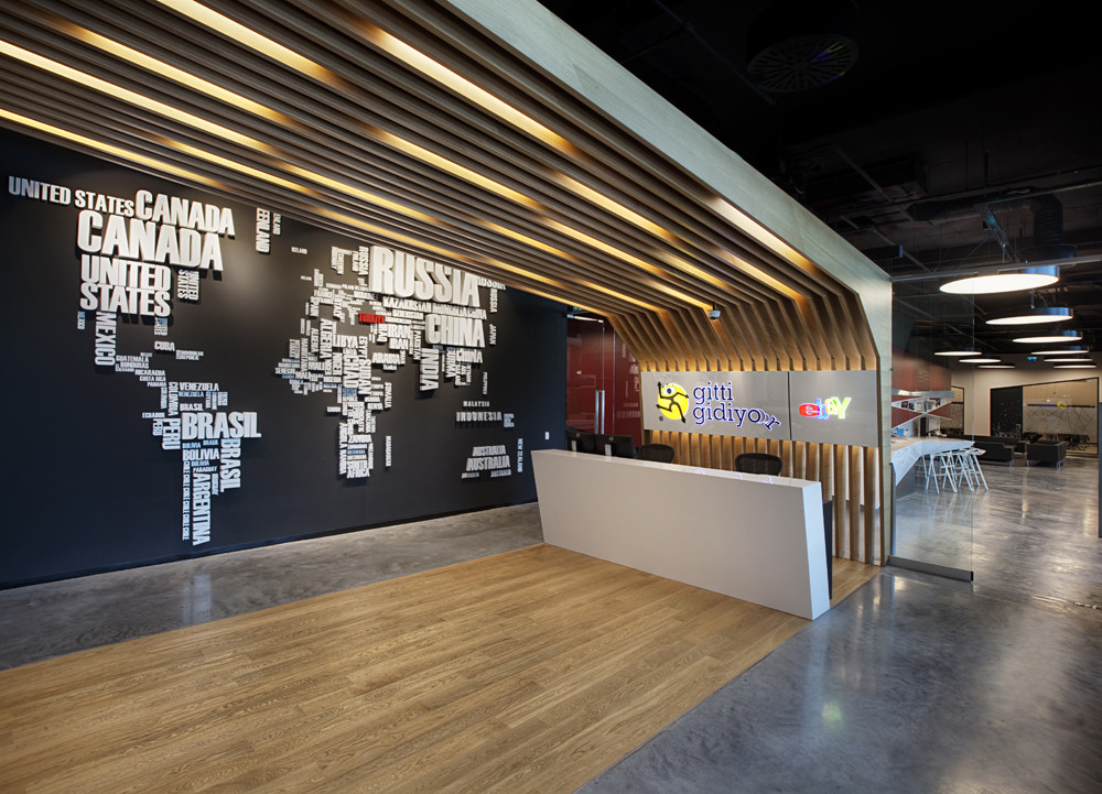 Ebay turkey offices for Bureau reception