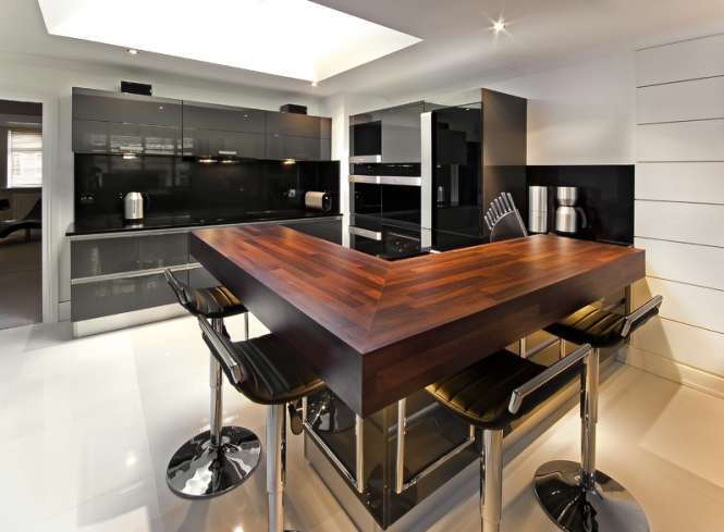 Contemporary kitchen design for Kitchen setups interior