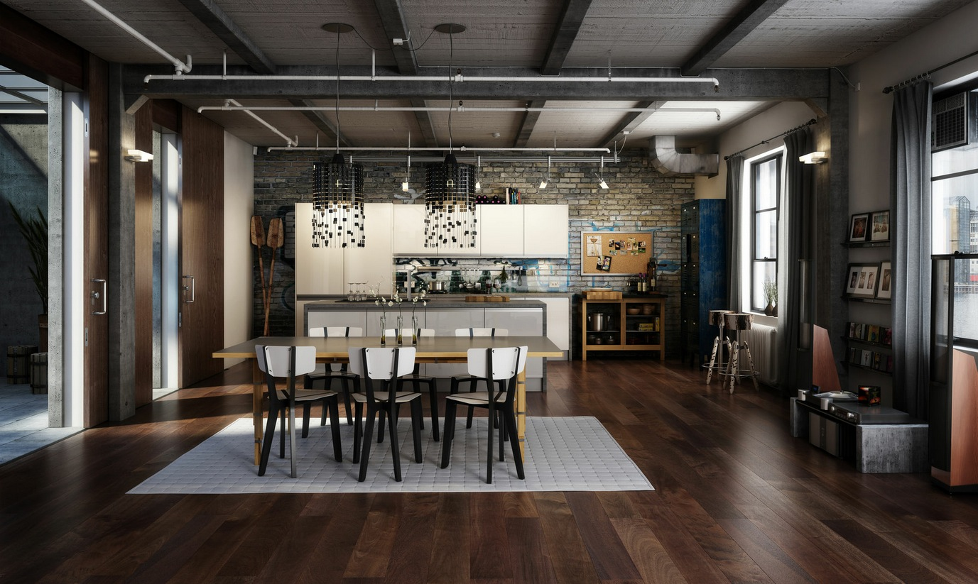 industrial home design. industrial home design