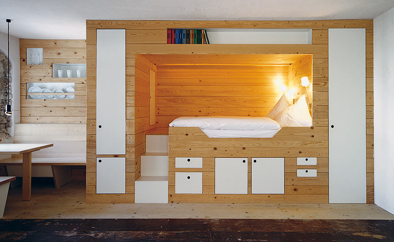 cabin bed storage interior design ideas