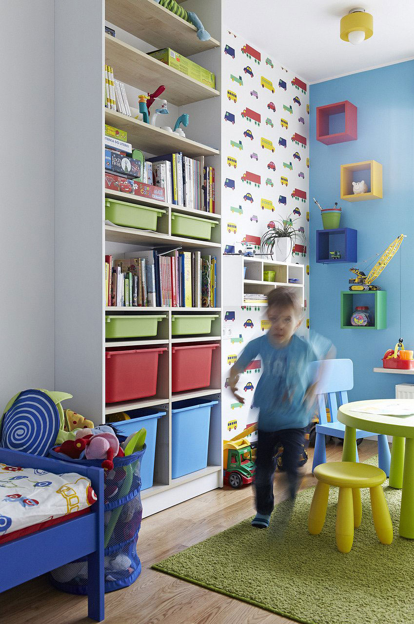 Kids Room Colorful Kids Room Interior Design Ideas
