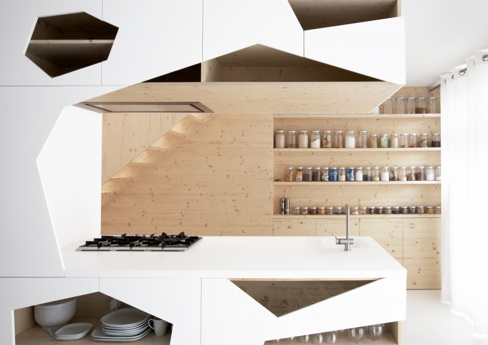 Superior Design Of Kitchen Shelf #10: Home Designing