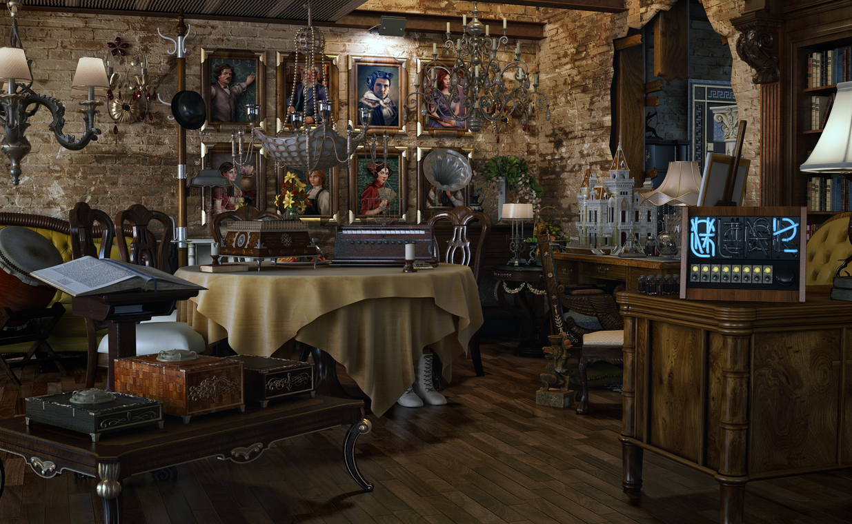 Artists Studios In Modern Eclectic Amp Vintage Styles