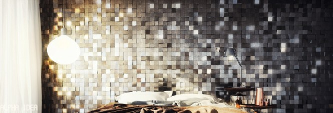 Extruded wall treatment