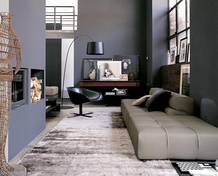 Sofa ideas for Black grey living room