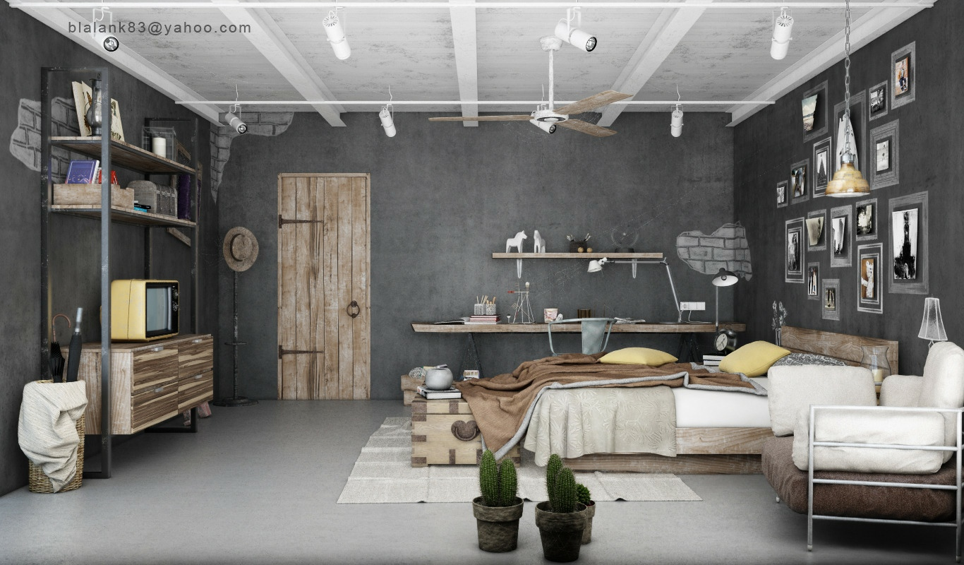 Gray brown bedroom decor | Interior Design Ideas.