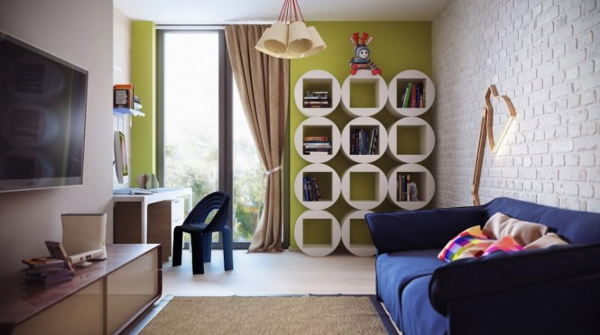 Seputar Dunia Seni Whimsical Kids Rooms