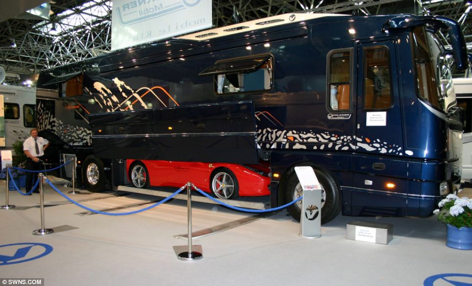 1 2 million luxury caravan by volkner mobil for Garden shed johor