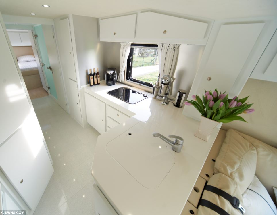 Motorhome kitchen | Interior Design Ideas.