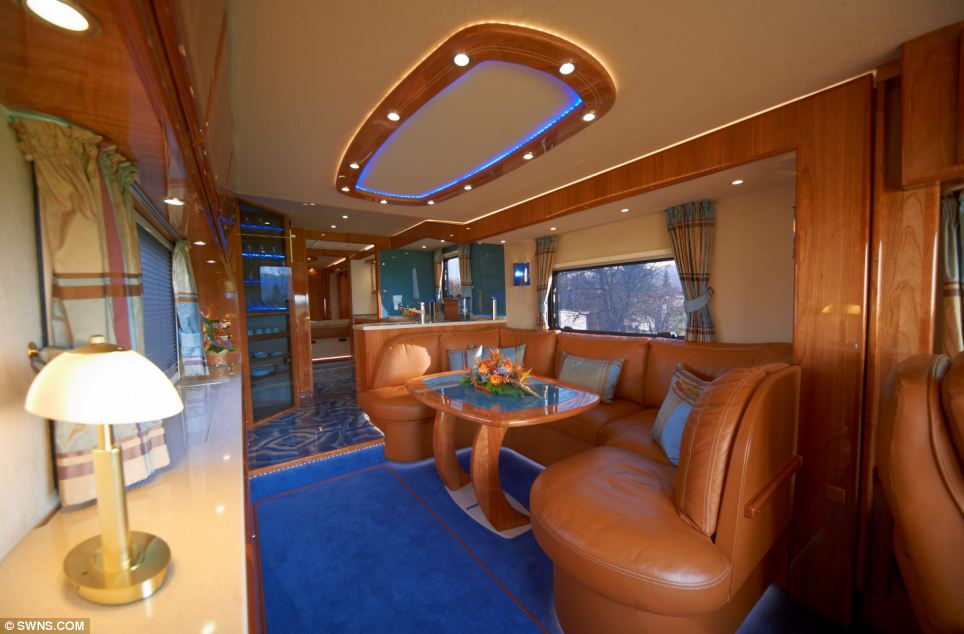 Worlds Most Expensive Rv >> $1.2 Million Luxury Caravan by Volkner Mobil