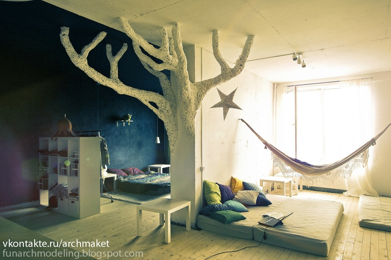 Whimsical kids rooms for House room design