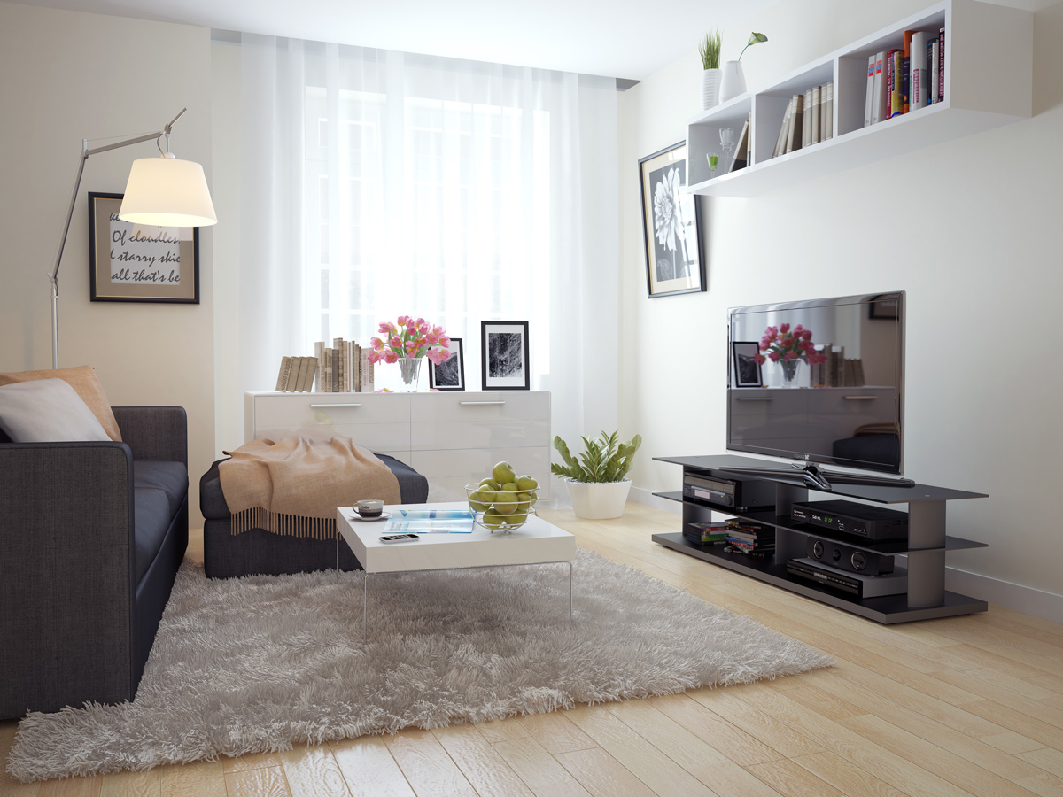 23 luscious living rooms for Small apartment living room