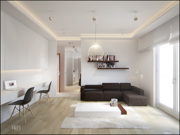 Small spaces a 40 square meter 430 square feet for 40m apartment design