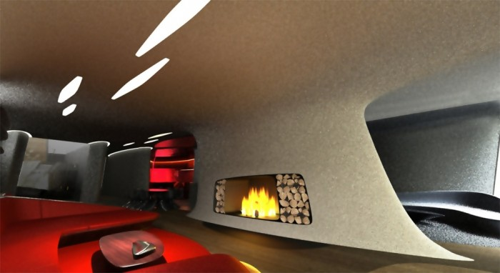 Space age living room
