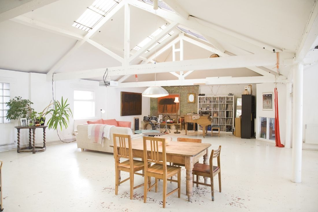 Exposed beams interior design ideas for House plans with exposed beams